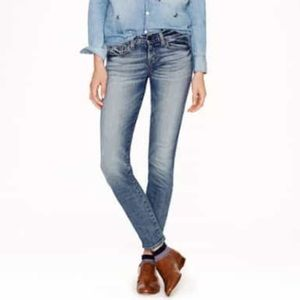 J. Crew Japanese Selvedge Toothpick Ankle Jeans